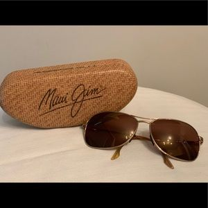 Maui Jim Aviator sunglasses